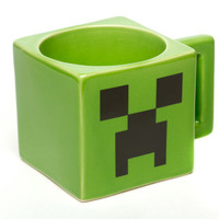 J!NX : Minecraft Creeper Face Mug