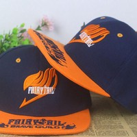 Fairy Tail Snapback Baseball Anime Hat