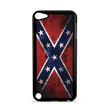 Confederate Rebel Flag Grunge Ipod Touch 5 Case
