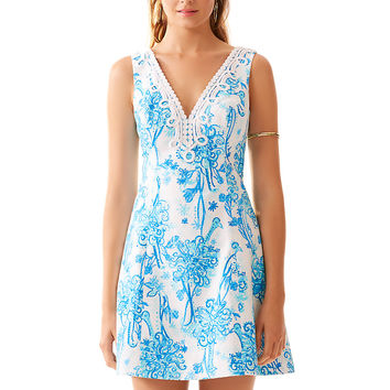 Lilly Pulitzer Brynn Fit & Flare V-Neck Dress