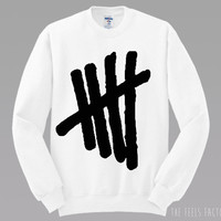5SOS Tally Mark Sweatshirt