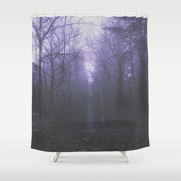 Cold streets Shower Curtain by HappyMelvin