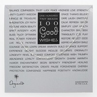 Women's Dogeared '100 Good Wishes' Boxed Necklace