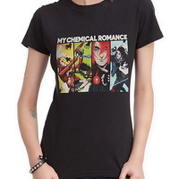 My Chemical Romance Comic Book Girls T-Shirt
