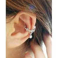 Ear Cuff Wrap Crystal Cartilage Earring