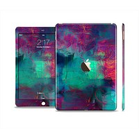 The Abstract Oil Painting V3 Skin Set for the Apple iPad Air 2