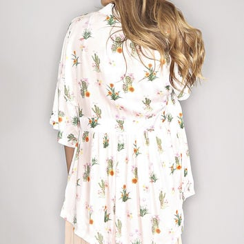 Somedays Lovin: How Sweet It Is Cactus Kimono