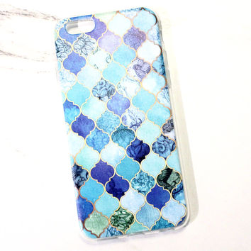 Blue Jewel iPhone Case