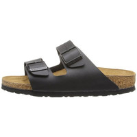 Birkenstock Womens Arizona Textured Buckle Slide Sandals