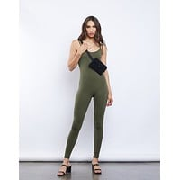 Simple Tank Catsuit