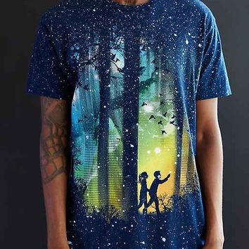 A Walk In The Woods Tee- Blue