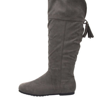 Rampage Bora Tall Boot with Tassel