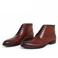 Ankle Brogue Boots 8212