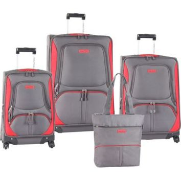 Nautica® Downhaul 4-Piece Spinner Luggage Set