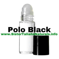 Polo Black all natural fragrance cologne for men teens amazing scent fresh light summer spring great smell free shipping non irritating