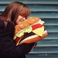 Hamburger Pillow - Made in France