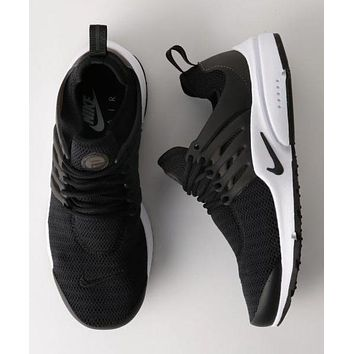 NIKE Air Presto Fashion Women Men Casual Breathable Running Sport Shoes Sneakers Black