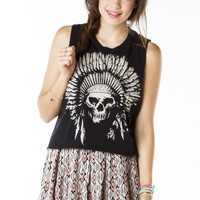 Sadie Indian Skull Tank