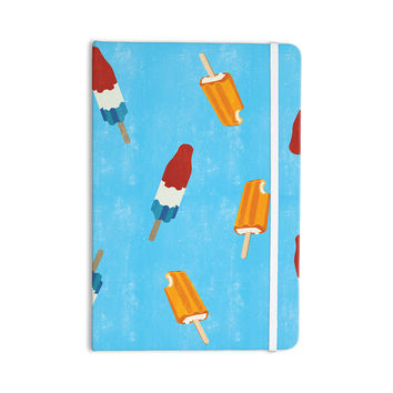 "KESS Original ""Feels like Summer"" Orange Food Everything Notebook"