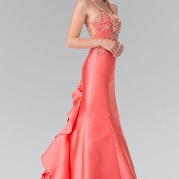 Sexy Mermaid Prom Dress #gl2214