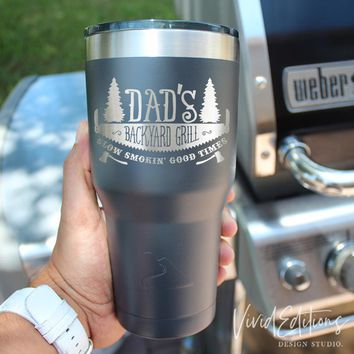 Father's Day Tumbler - Laser Engraved