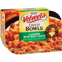 Kraft Velveeta Lasagna with Meat Sauce Cheesy Bowls 9 oz. Tray - Walmart.com