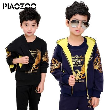 Toddler boys clothing set 3pcs new year costume kinder winter jogging suit Clothes for boy tracksuit 6 8 10 12 14T P20
