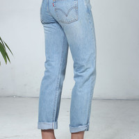 Jeans Woman : Authentic Levis Boyfriend Jeans