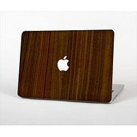 The Dark Walnut Wood Skin Set for the Apple MacBook Pro 15""