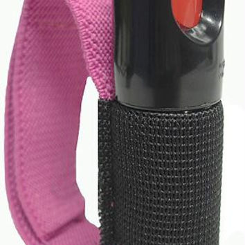 Pepper Spray With Pink Strap - Guaranteed Fresh, Will Last 24 Months