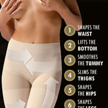 Control Body Push Up Short - Firm Support