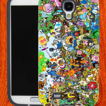 dventure time all character,Accessories,Case,Cell Phone,iPhone 4/4S,iPhone 5/5S/5C,Samsung Galaxy S3,Samsung Galaxy S4,Rubber,28-11-6-Vr