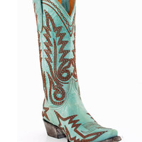 "Old Gringo Nevada Heavy 13"" Aqua Boots"