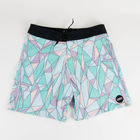Strata Disjointed Boardshort Green