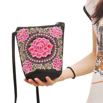 Crossbody Bags Lady Tribal vintage Cross body Handbags
