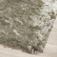 Titanium Grey Paris Shag Shag Rug | On Sale at Floors USA | Safavieh No. SG511