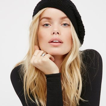 Free People Spring Fling Knit Beret