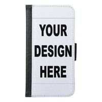 Personalized Samsung Galaxy S6 Wallet Case