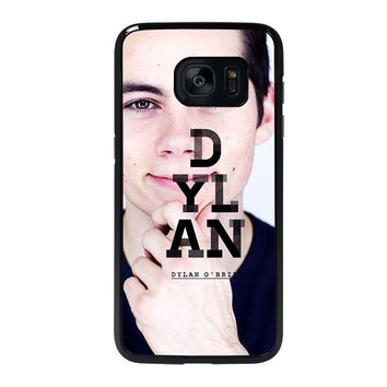 DYLAN O'BRIEN Samsung Galaxy S7 Edge Case Cover