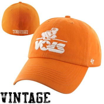 47 Brand Tennessee Volunteers Vault Franchise Fitted Hat - Tennessee Orange
