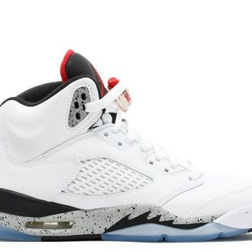 Air Jordan 5 Retro White Cement GS