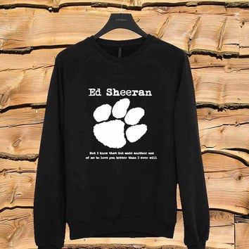 Ed Sheeran sweater Sweatshirt Crewneck Men or Women Unisex Size