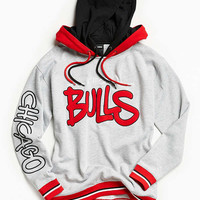 Chicago Bulls 1990 Throwback Hoodie Sweatshirt | Urban Outfitters
