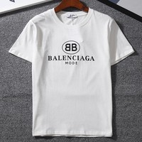 Balenciaga Woman Men Fashion Tunic Shirt Top Blouse