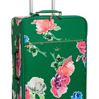 Women's kate spade new york 'classic' nylon international two-wheel carry-on suitcase - Green (20 inch)