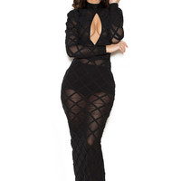 Cali Long Bandage Dress