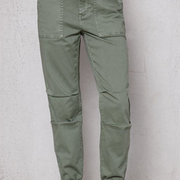 PacSun Green Utility Jogger Pants at PacSun.com