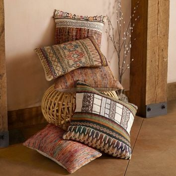 Loloi Handwoven Down-Filled Throw Pillows | VivaTerra