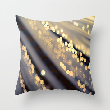 Second Star to the Right Throw Pillow by The Dreamery | Society6