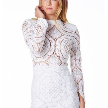In Love With Lace Mini Dress